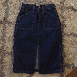 J.Crew Denim Skirt 27 waist
